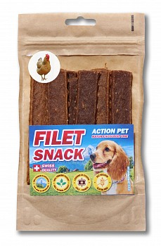 ACTION PET FILET SNACK KUŘE 80g